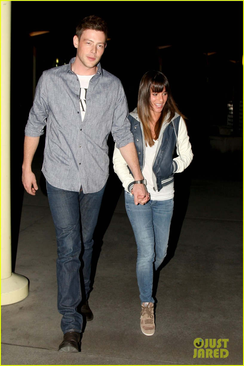 lea michele cory monteith arclight hollywood lovers 01