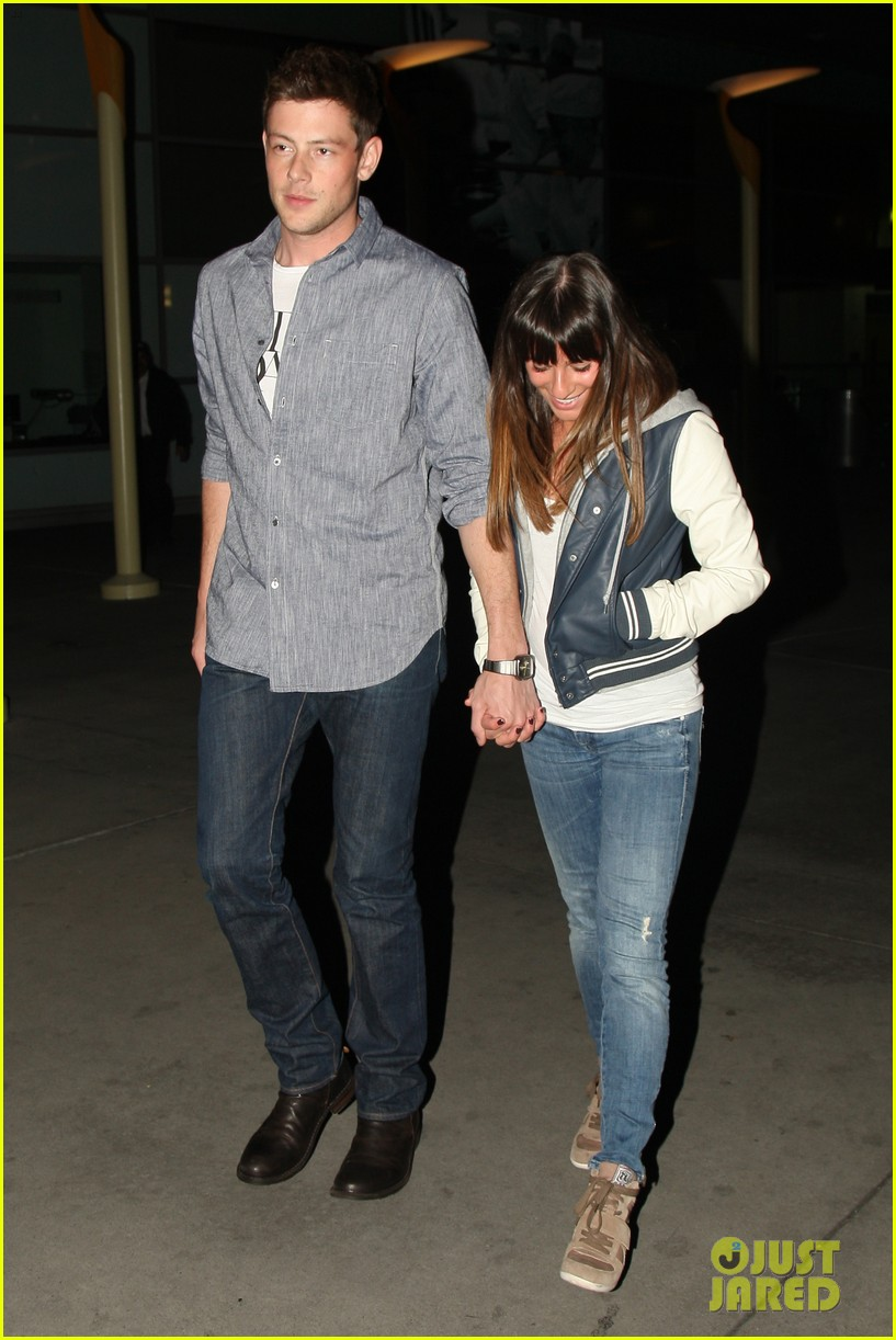 lea michele cory monteith arclight hollywood lovers 042804482