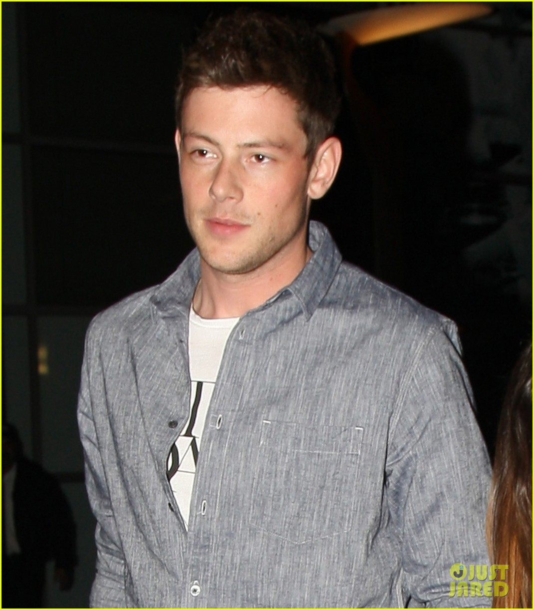 lea michele cory monteith arclight hollywood lovers 052804483
