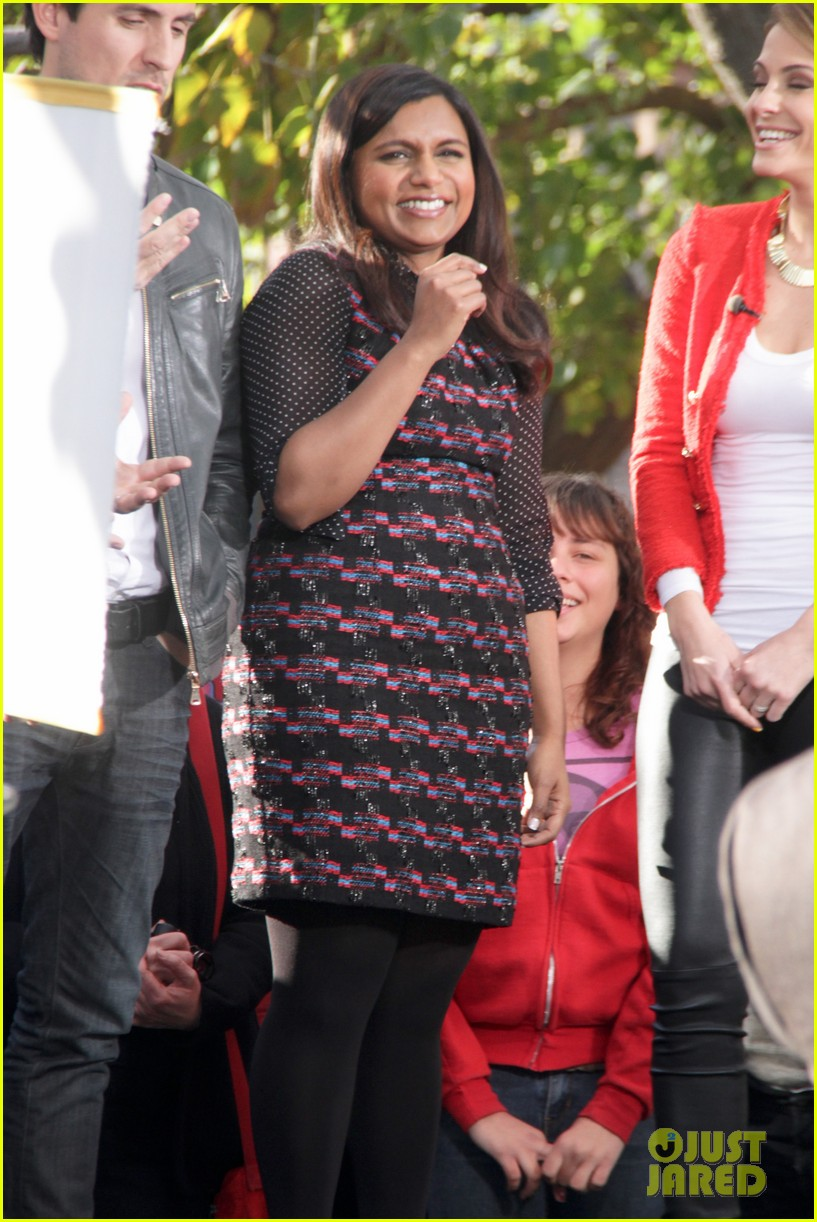 mindy kaling mindy project promotion 012811319