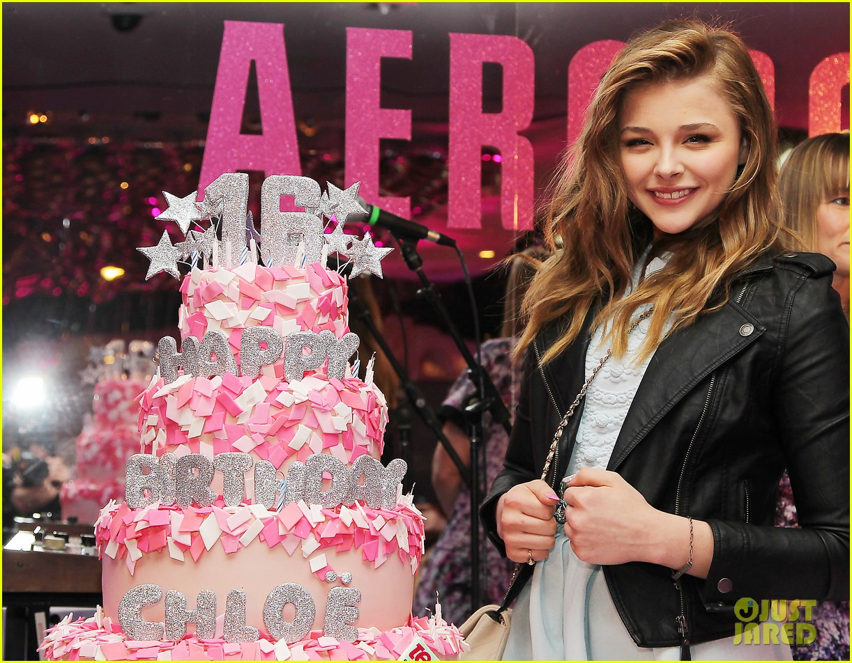 Chloe Moretz: Sweet 16 Birthday Bash with Julianne Moore! | Ansel