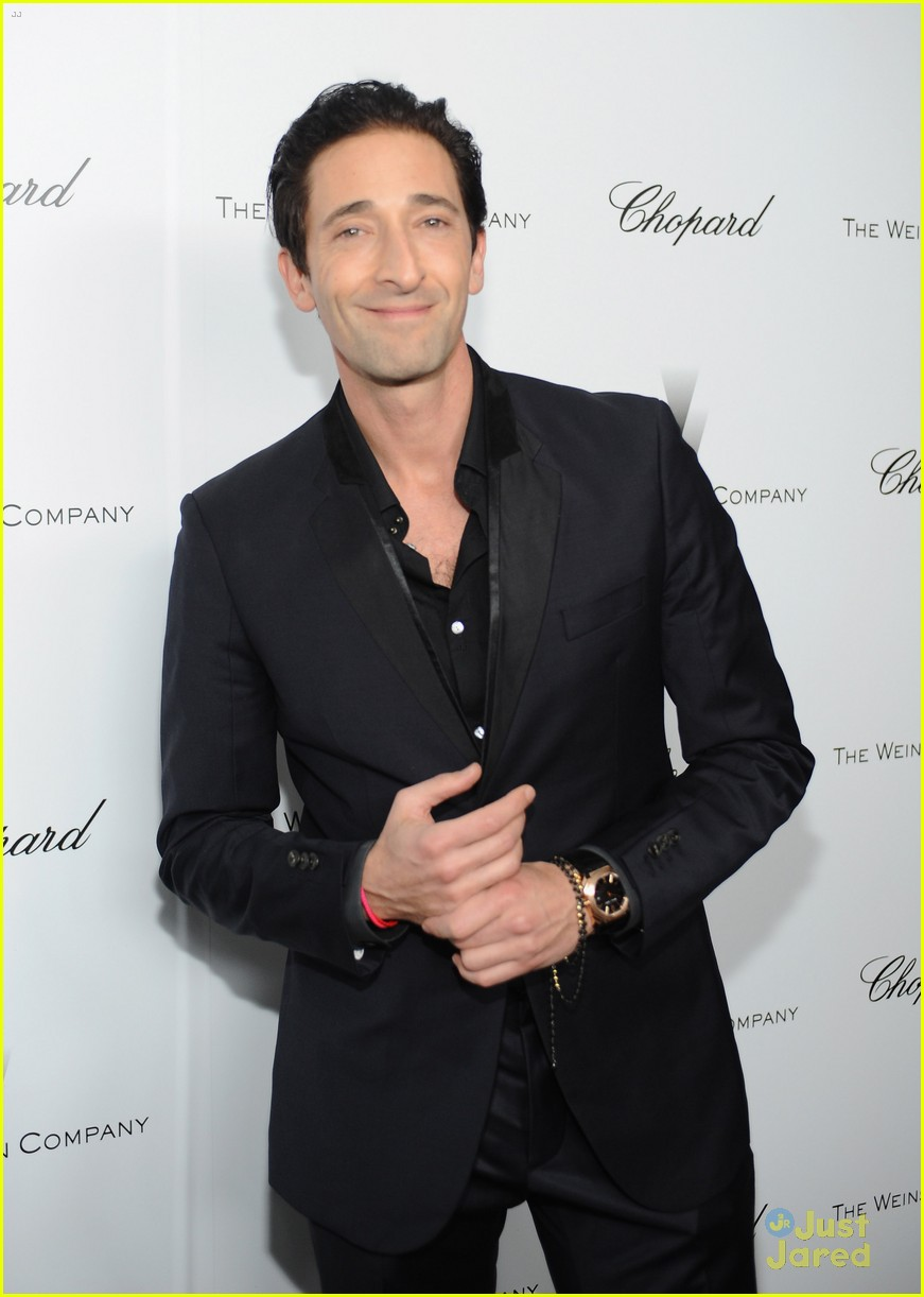 matthew morrison chace crawford weinstein pre oscars party 2013 032818455
