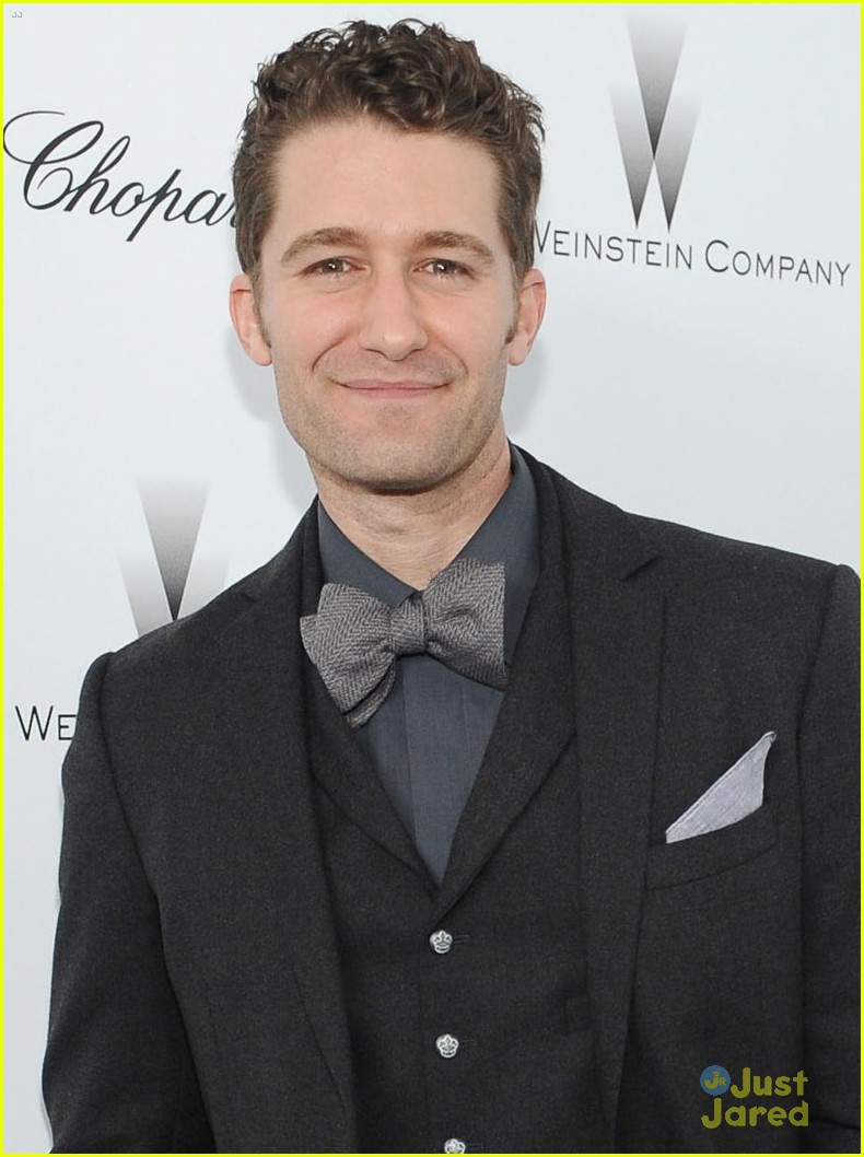 matthew morrison chace crawford weinstein pre oscars party 2013 042818456