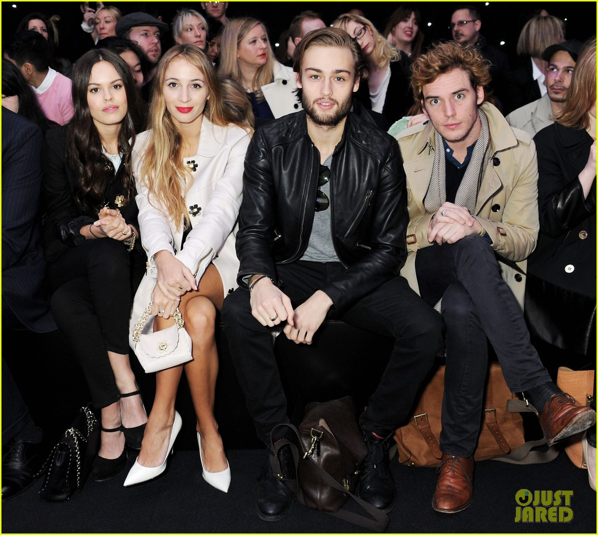 lana del rey sam claflin mulberry fashion show 11