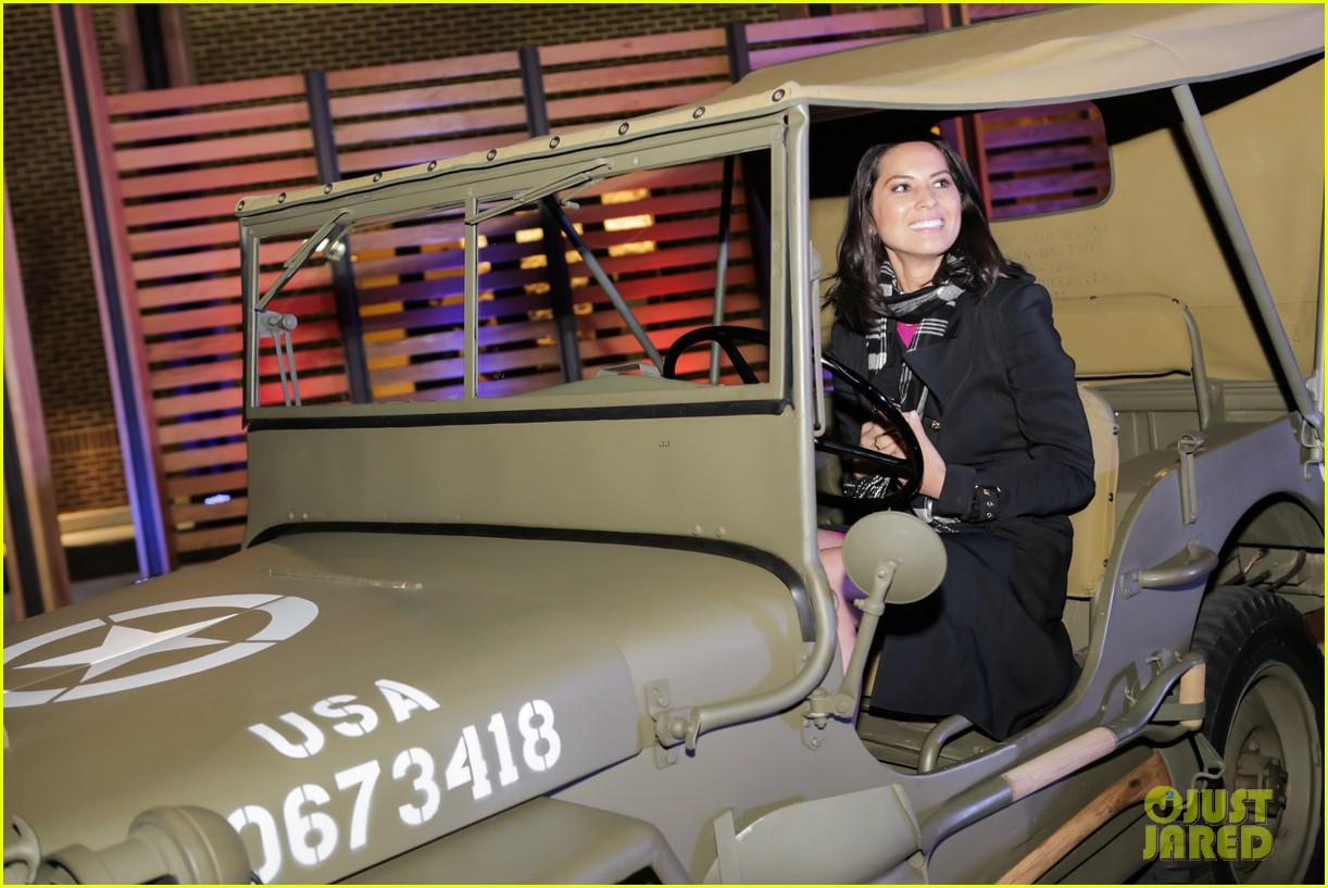 olivia munn jeep operation safe return launch event 052806503