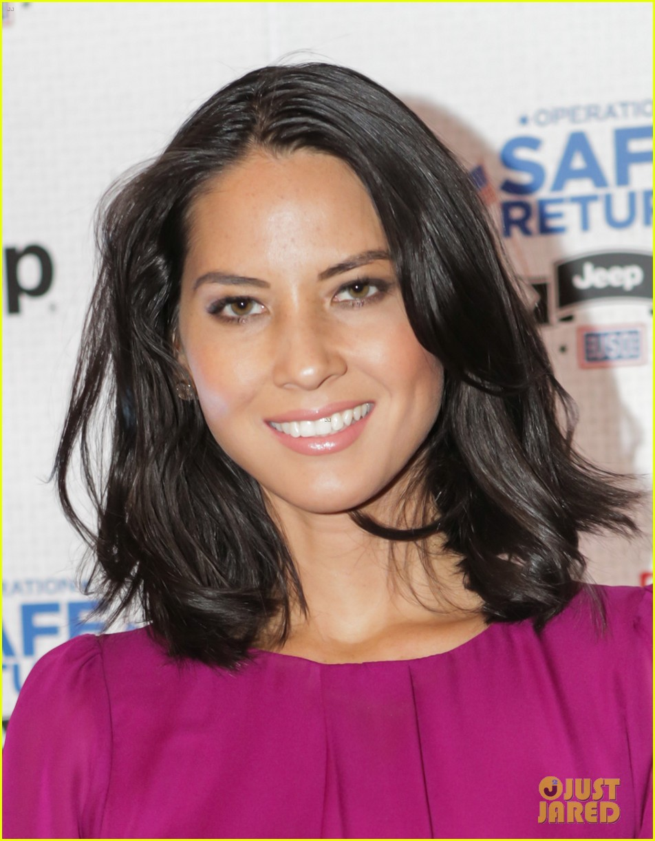 olivia munn jeep operation safe return launch event 062806504