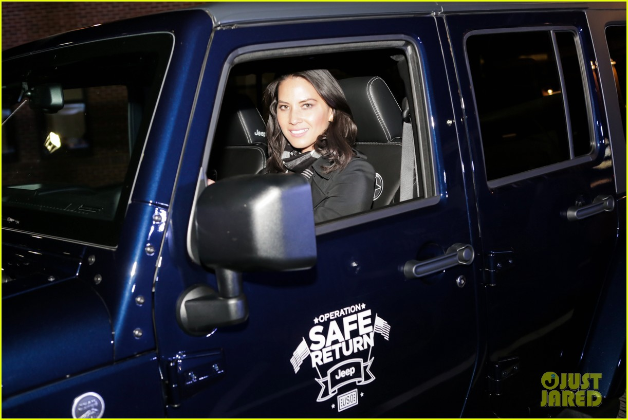olivia munn jeep operation safe return launch event 152806513