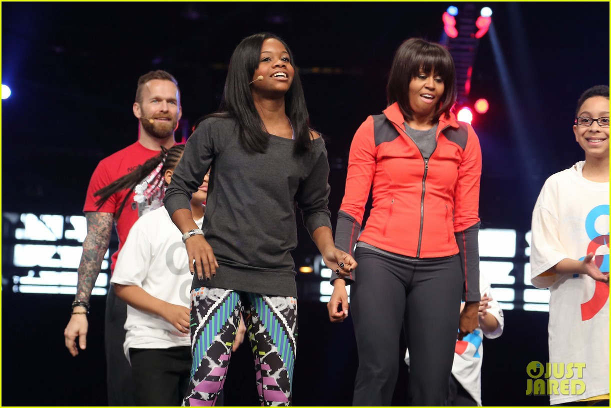 michelle obama school exercise program with jordin sparks 24
