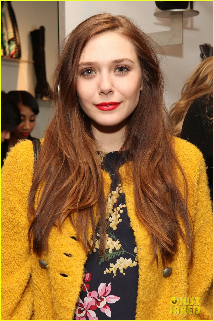 elizabeth olsen cher coulter capsule collection event 022807049