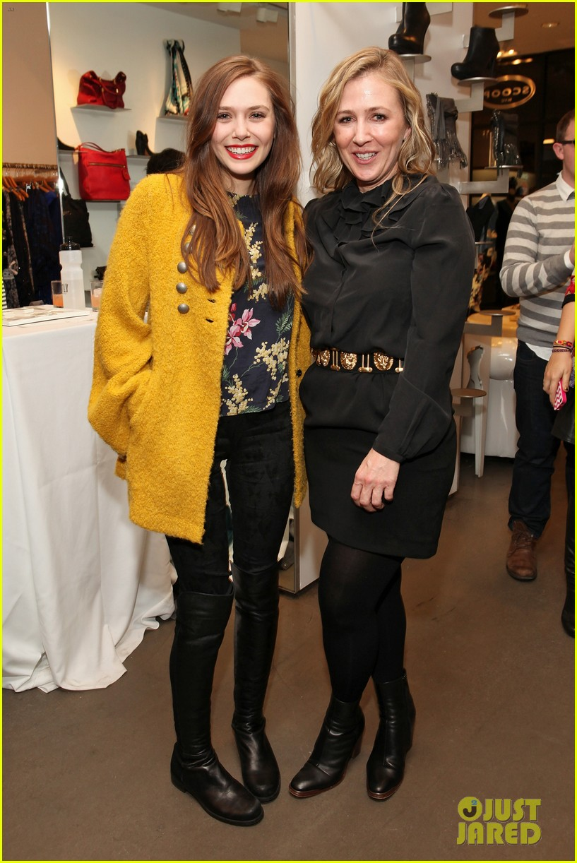 elizabeth olsen cher coulter capsule collection event 072807054