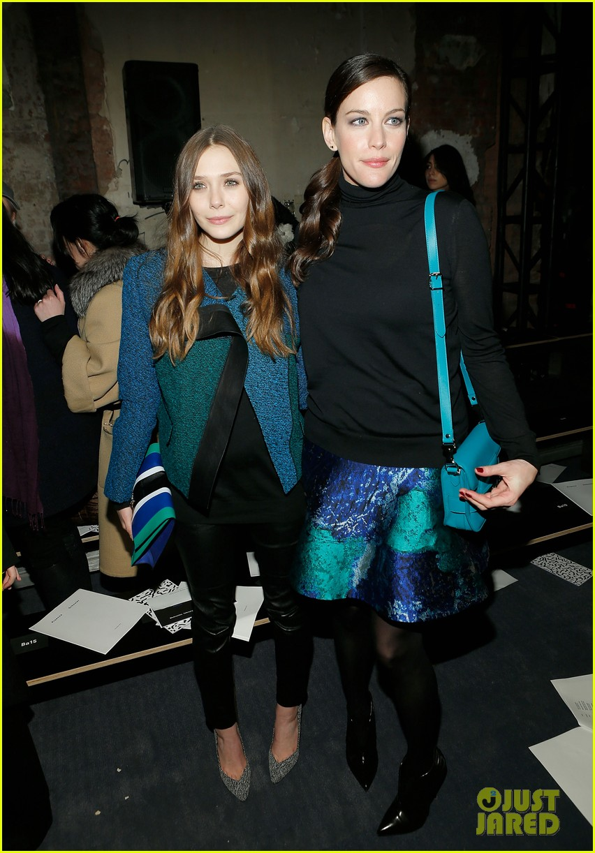 elizabeth olsen liv tyler proenza schouler fashion show 052811670