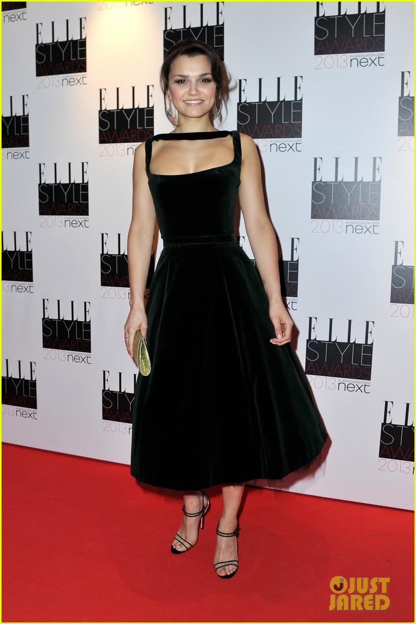 elizabeth olsen samantha barks elle style awards 2013 062810147