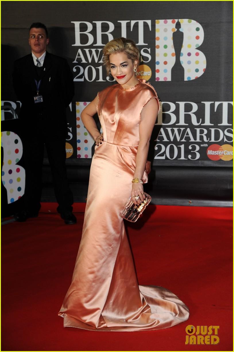 rita ora brit awards 2013 red carpet 062815825