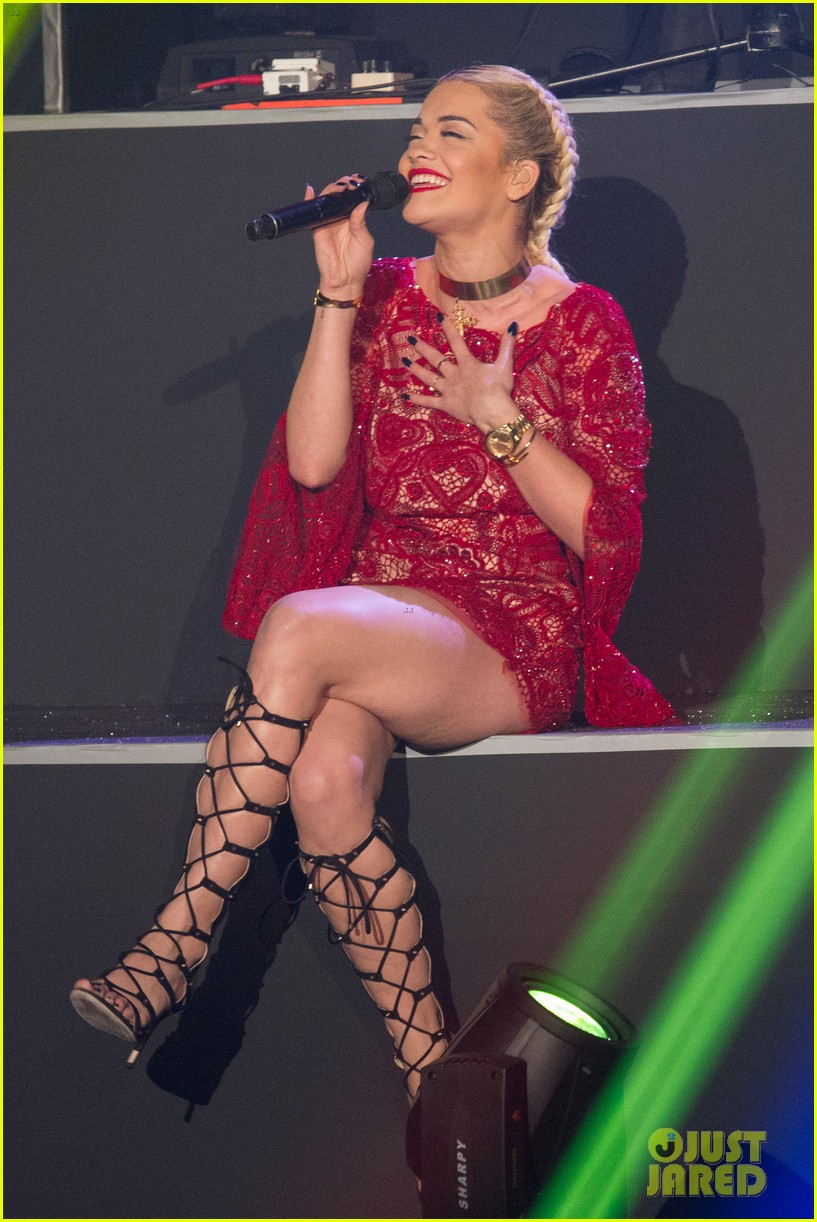 rita ora lily allen etam live lingerie fashion show 092821640