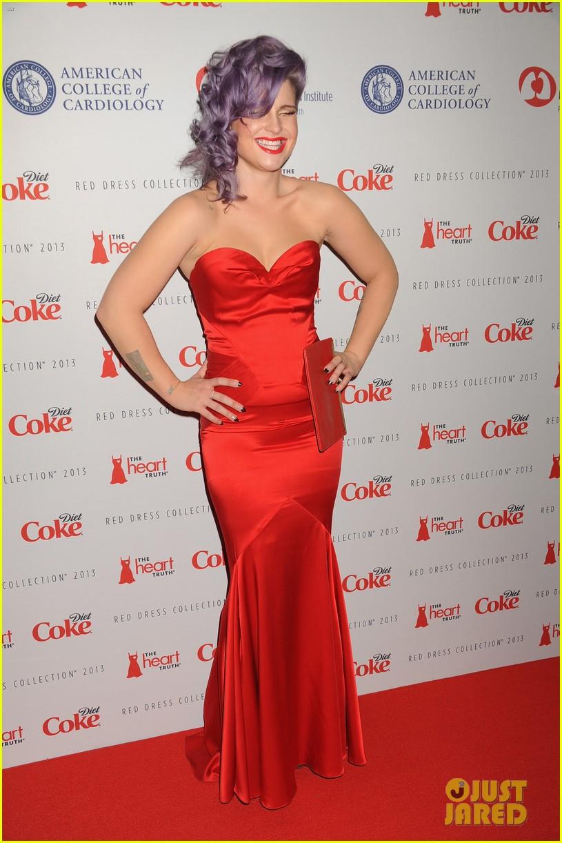 Kelly Osbourne & Jamie Chung: Red Dress Fashion Show 2013