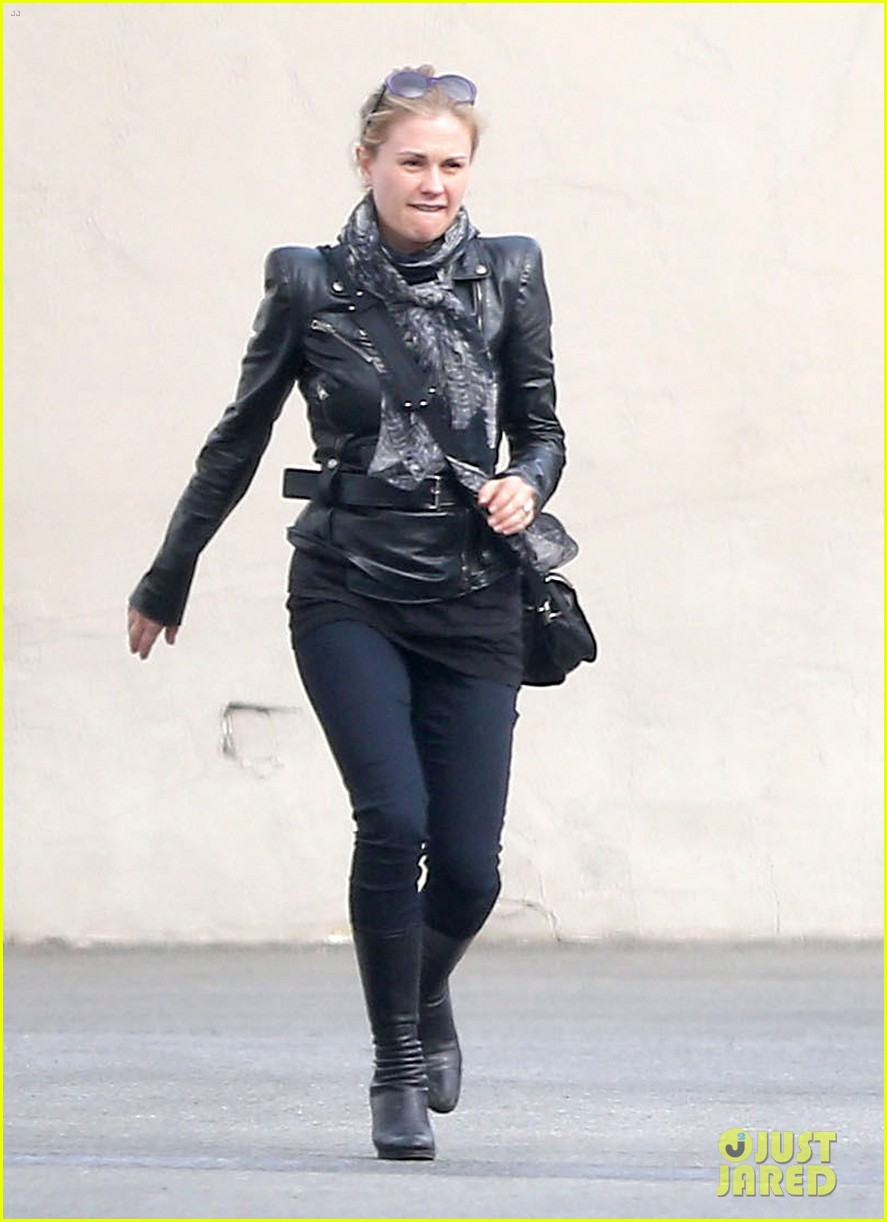 anna paquin shopping with one of her twins 012805989