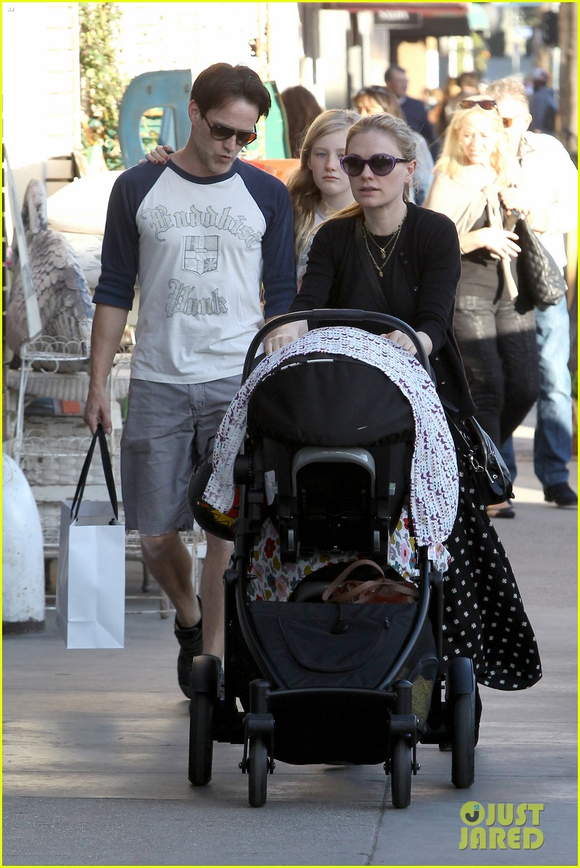 anna paquin shopping with one of her twins 172806005