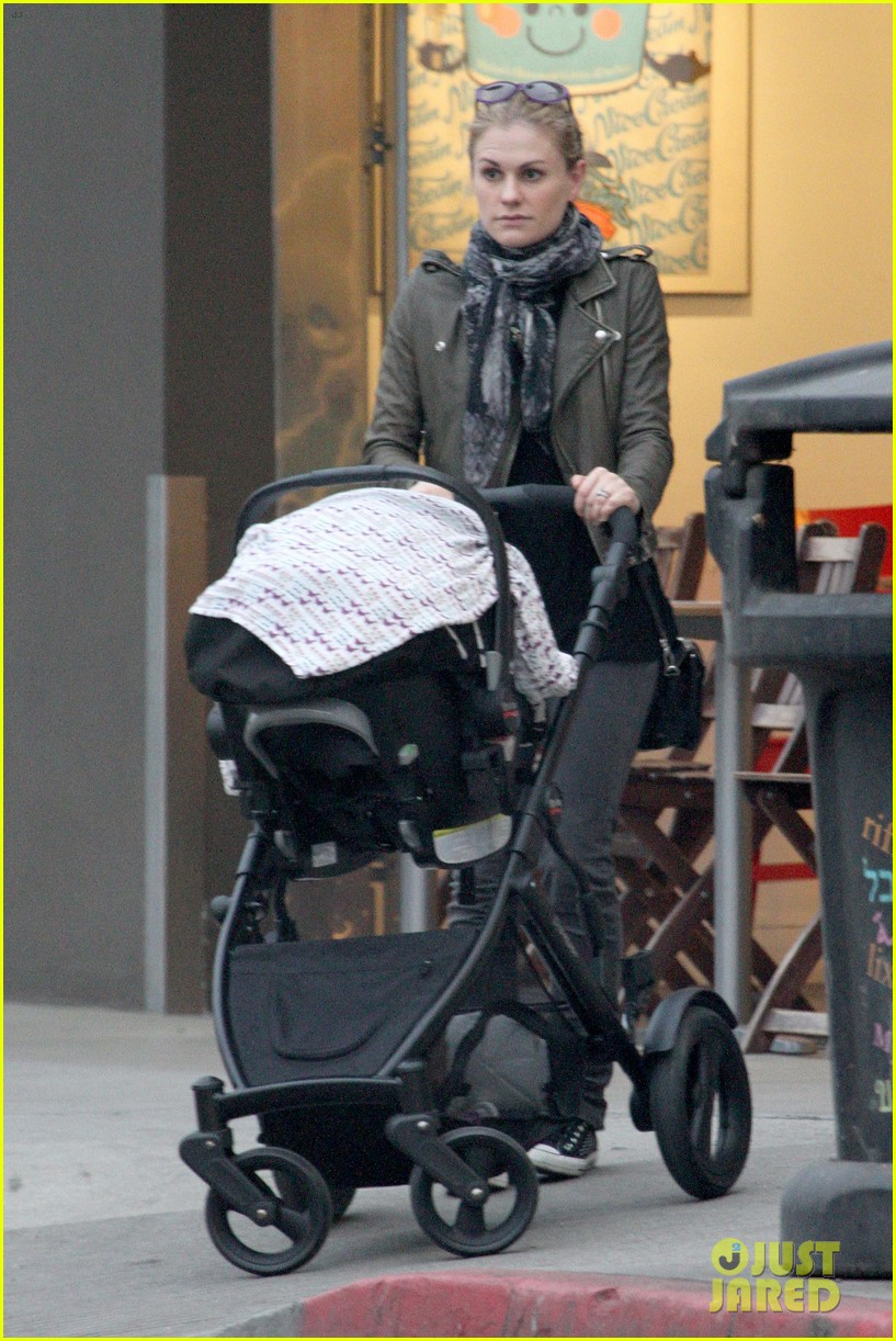 anna paquin shopping with one of her twins 272806015
