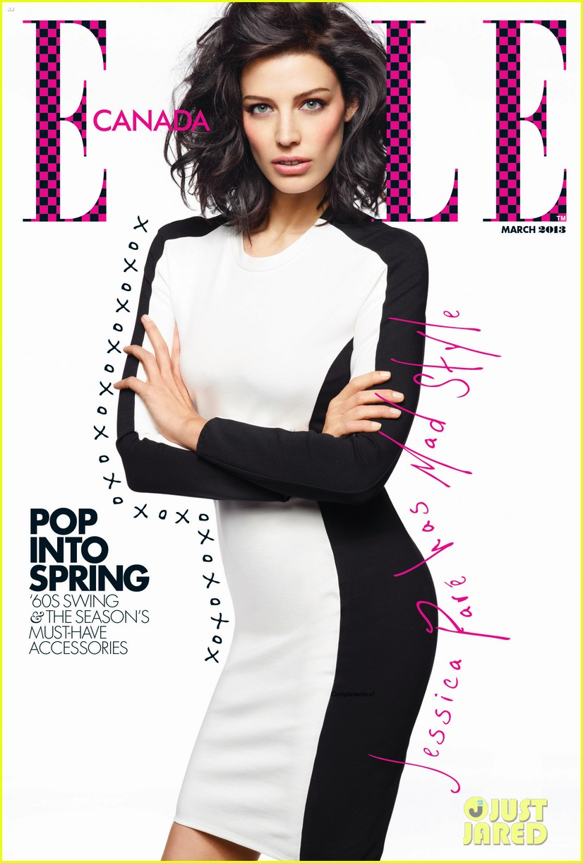 jessica pare covers elle canada march 2013 01