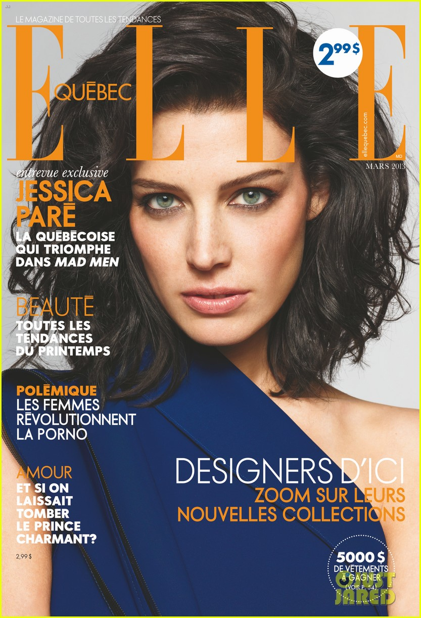 jessica pare covers elle canada march 2013 022811618