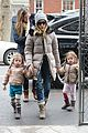 sarah jessica parker morning walk with the twins 29