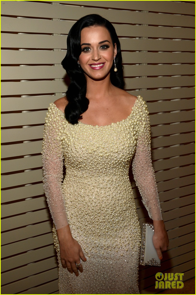 katy perry john mayer clive davis pre grammy party 2013 02