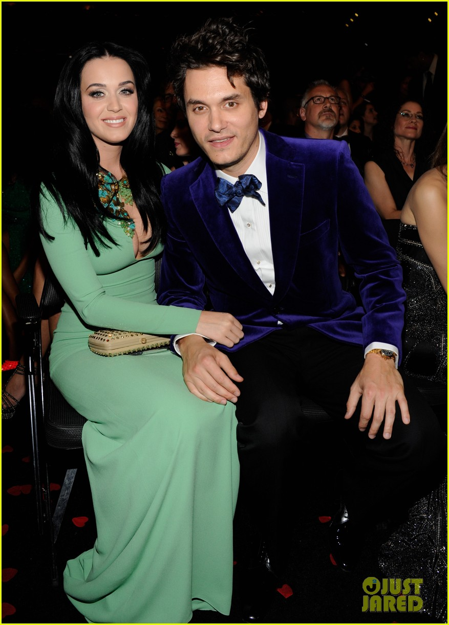 katy perry john mayer grammys 2013 seatmates pics 032809618
