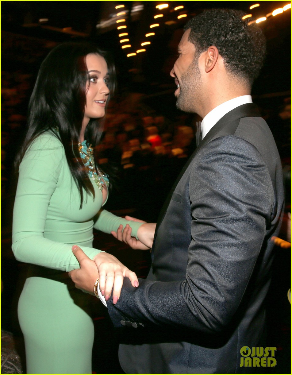 katy perry john mayer grammys 2013 seatmates pics 042809619