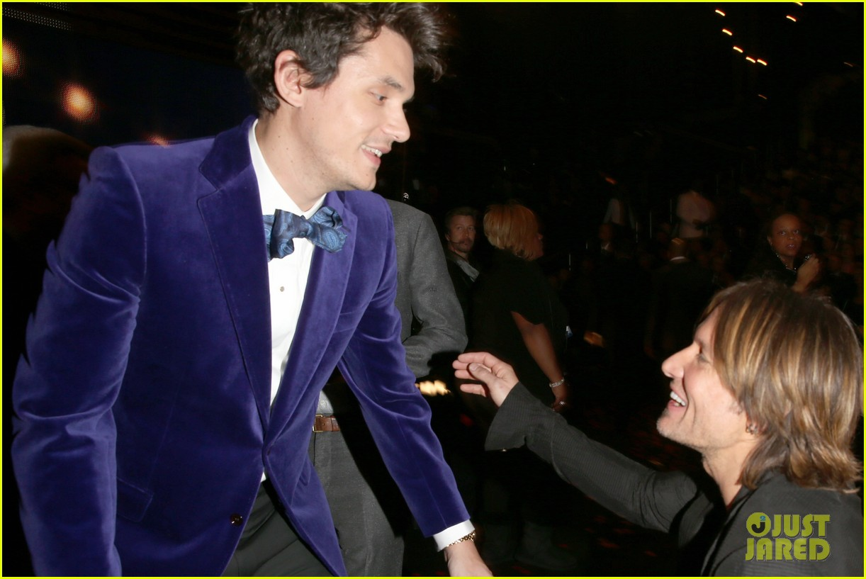katy perry john mayer grammys 2013 seatmates pics 082809623