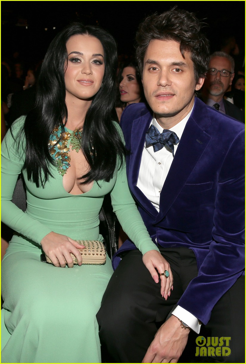 katy perry john mayer grammys 2013 seatmates pics 112809626