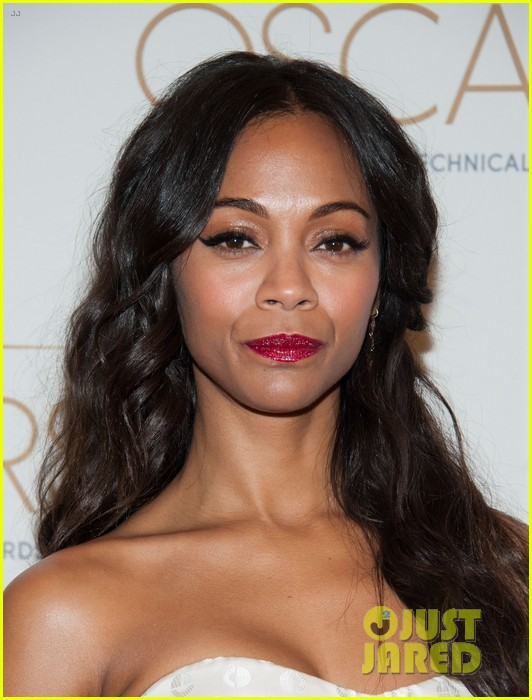 chris pine zoe saldana academy tech awards 2013 022808695