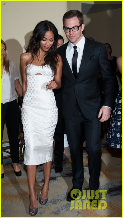 chris pine zoe saldana academy tech awards 2013 072808700