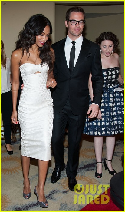 chris pine zoe saldana academy tech awards 2013 08