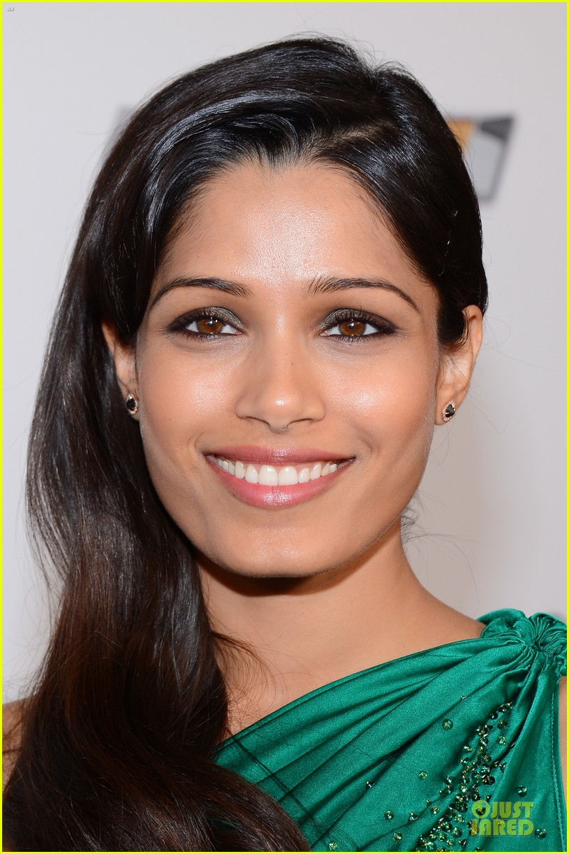 freida pinto dev patel naacp image awards red carpet 2013 102802725