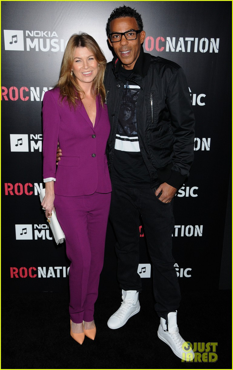 ellen pompeo chris ivery rocnation pre grammy brunch 2013 012808271