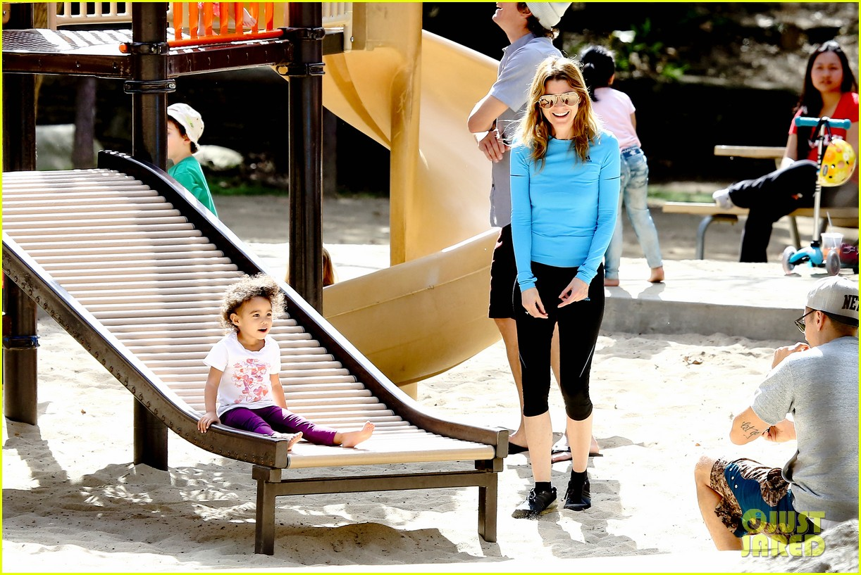 ellen pompeo sliding with stella 032813743