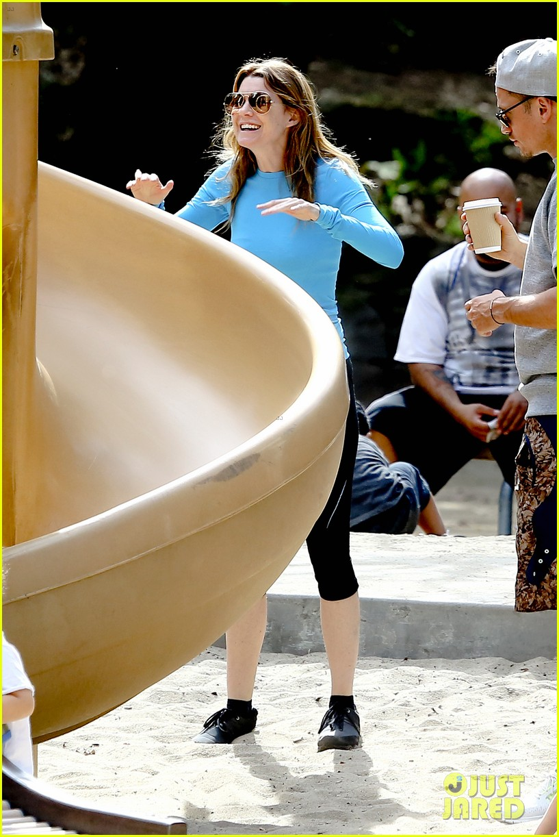 ellen pompeo sliding with stella 082813748