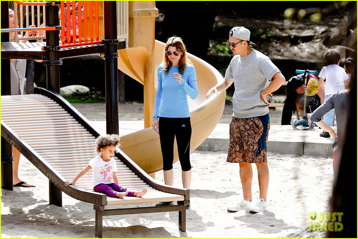ellen pompeo sliding with stella 112813751