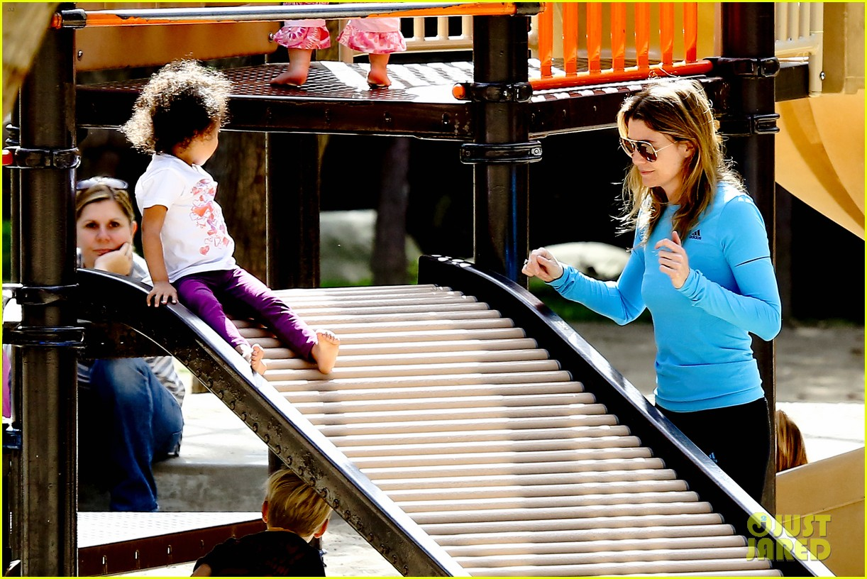 ellen pompeo sliding with stella 142813754