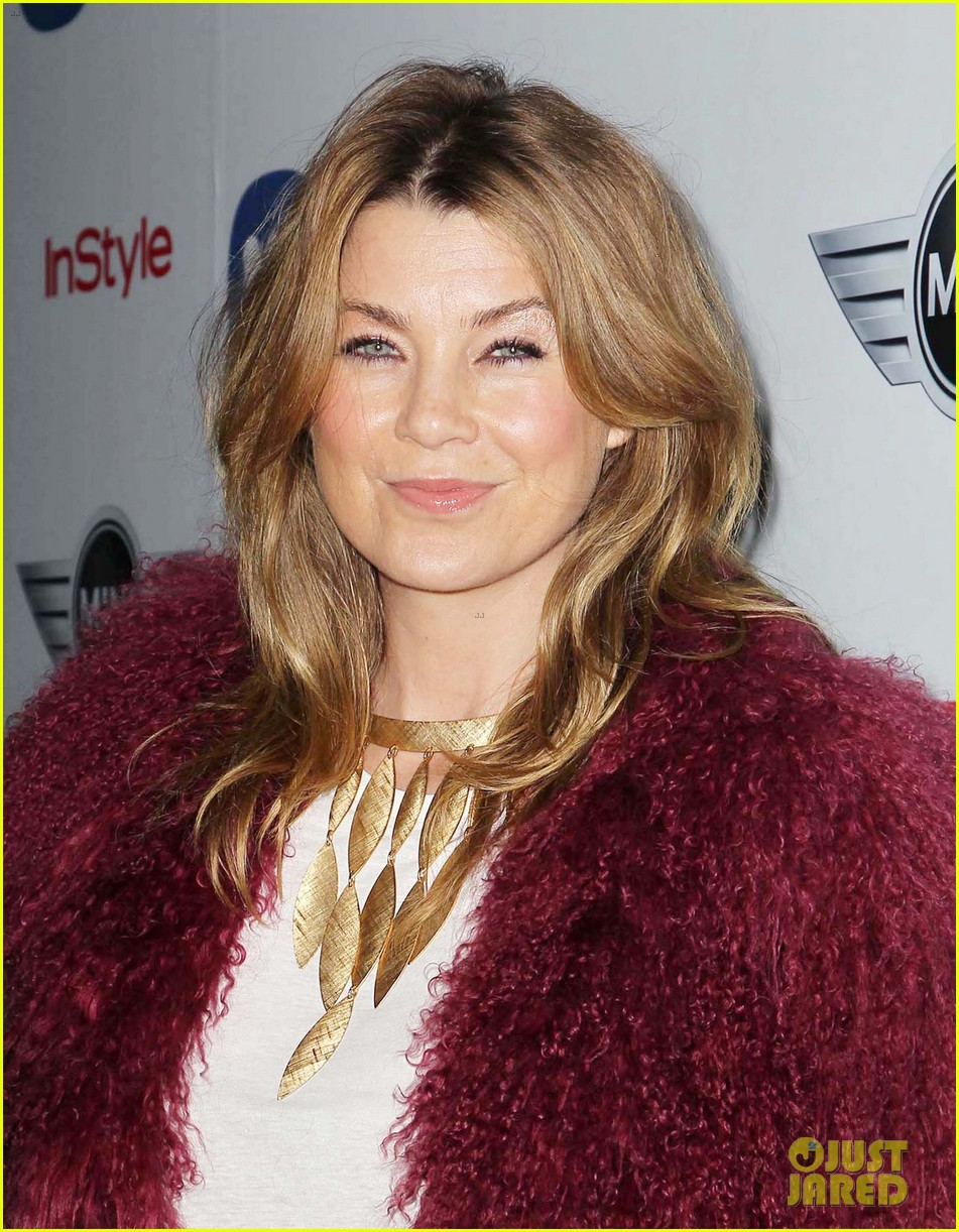 ellen pompeo julia stules warner music group grammys party 2013 142809935