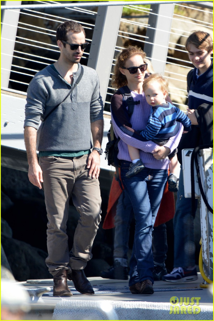 natalie portman benjamin millepied whale watching with aleph 202814316