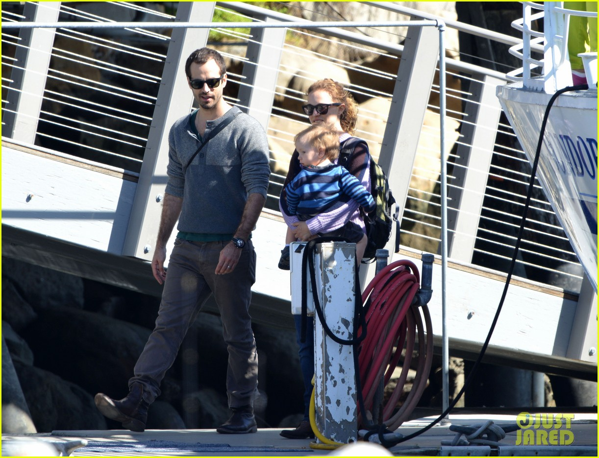 natalie portman benjamin millepied whale watching with aleph 232814319