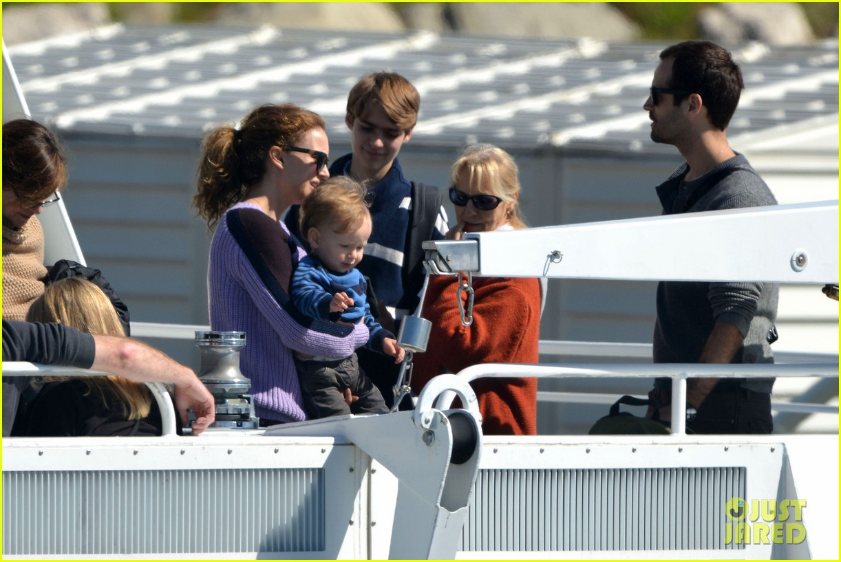natalie portman benjamin millepied whale watching with aleph 242814320