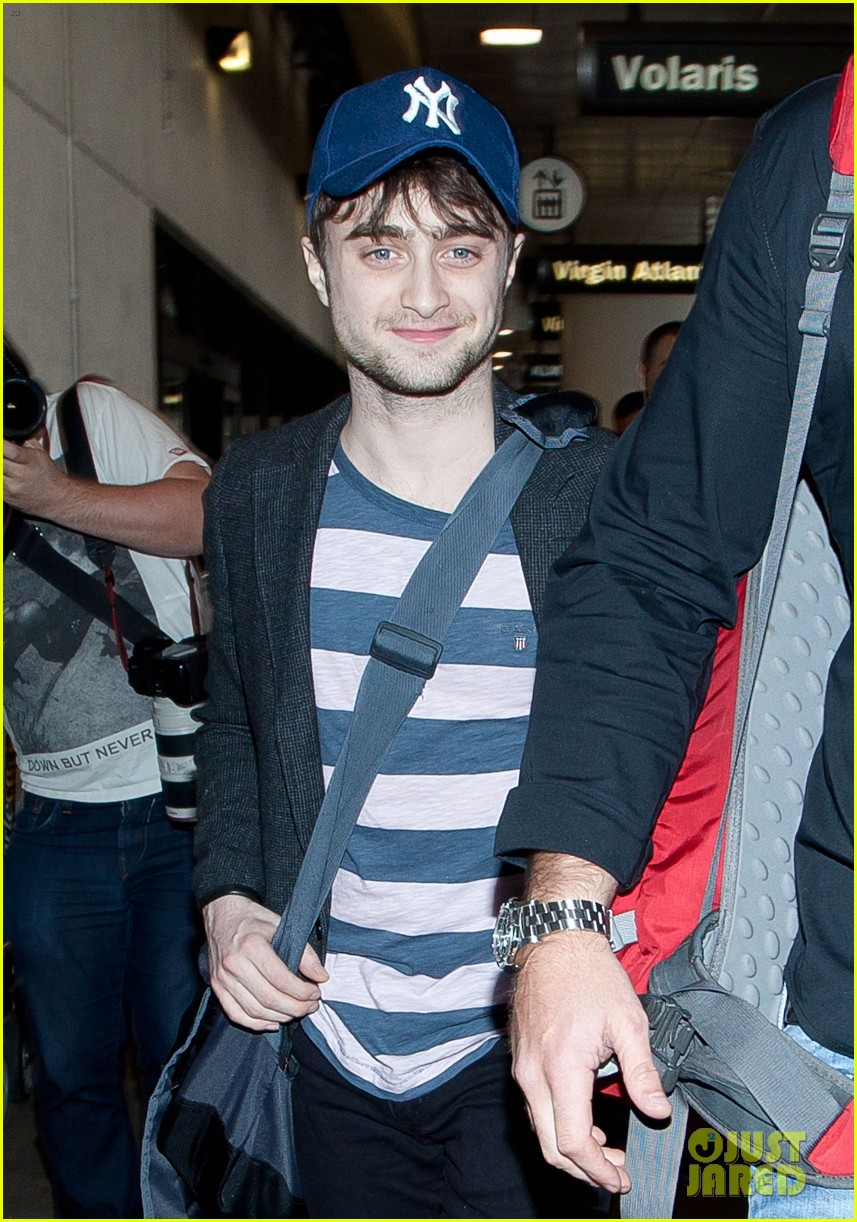 daniel radcliffe new york yankees fan 102816377