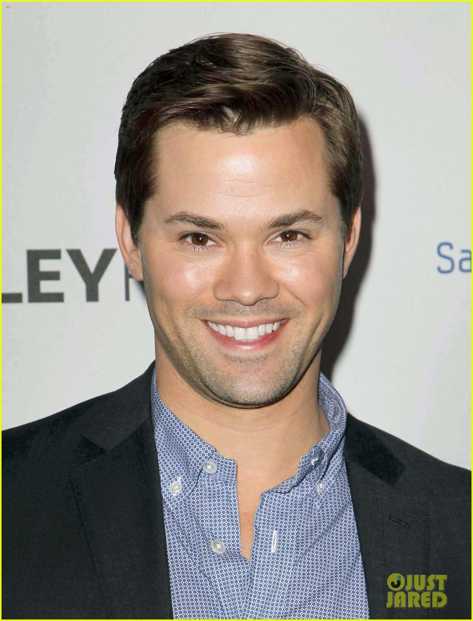 andrew rannells georgia king inaugural paleyfest icon award 042822214