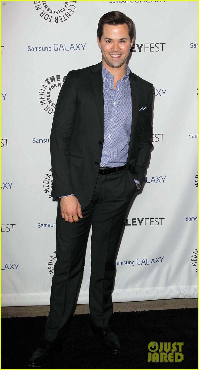 andrew rannells georgia king inaugural paleyfest icon award 172822227