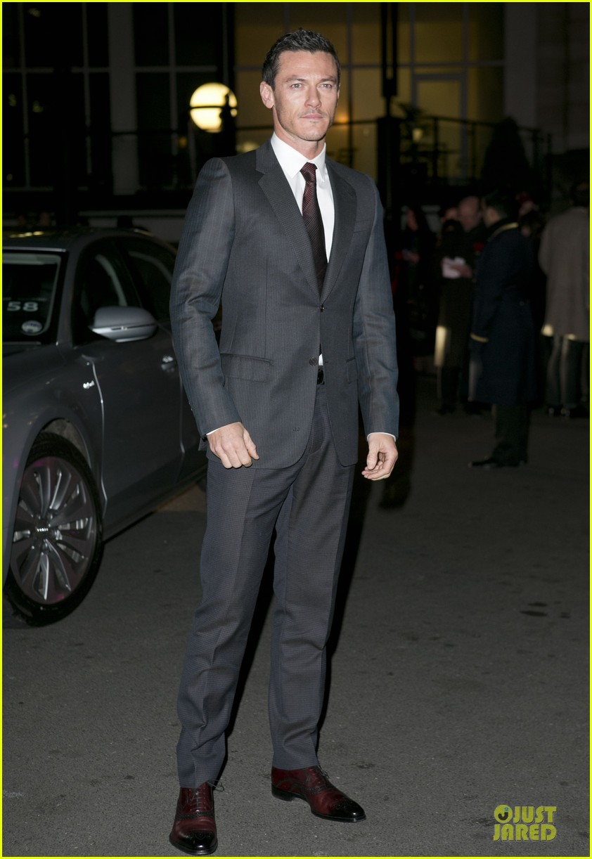 eddie redmayne luke evans british film awards 2013 032804894