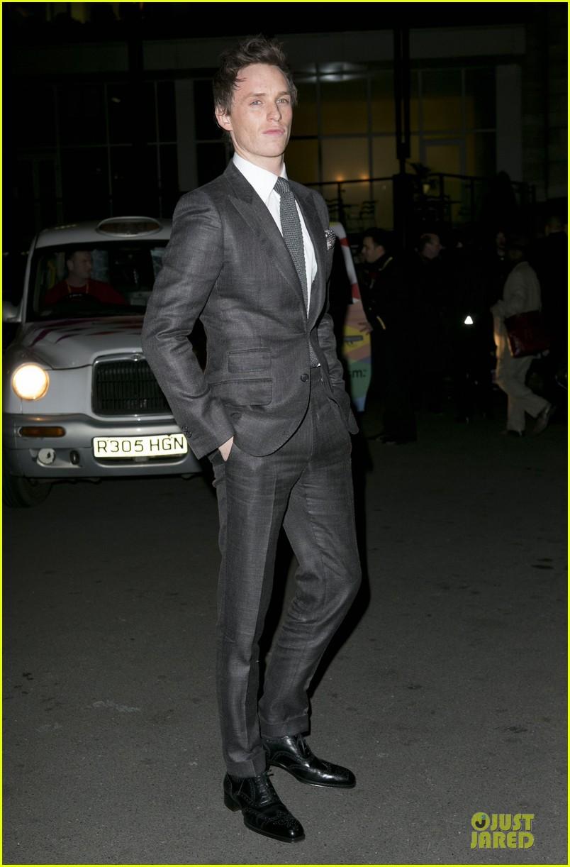 eddie redmayne luke evans british film awards 2013 082804899