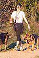 nikki reed super bowl hiking with shirtless brother nathan 10