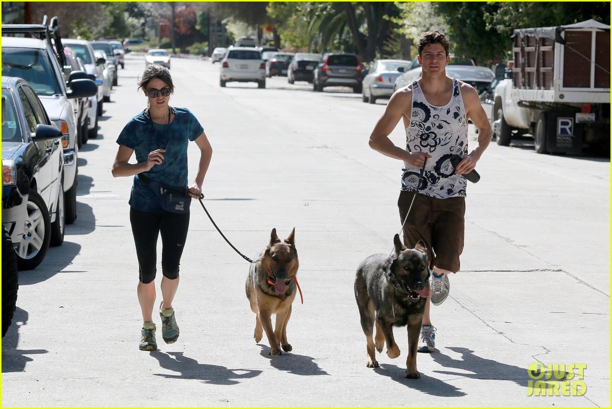 nikki reed dog run with brother nathan 072813909